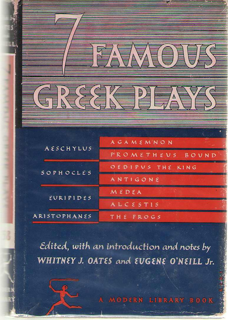 Image for Seven Famous Greek Plays Plays of Aeschylus, Sophocles, Euripedes and Aristophanes