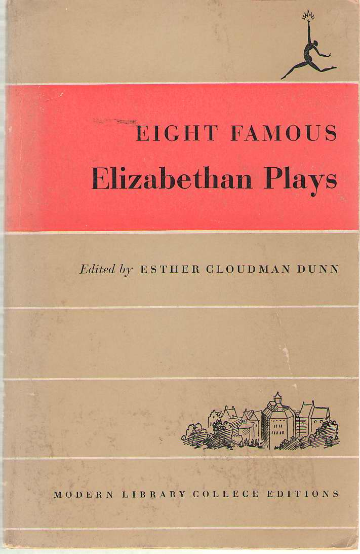Image for Eight Famous Elizabethan Plays