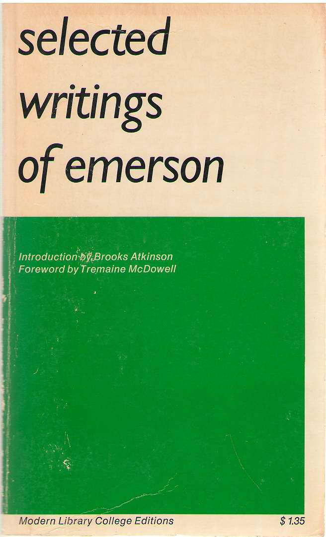 Image for Selected Writings Of Emerson
