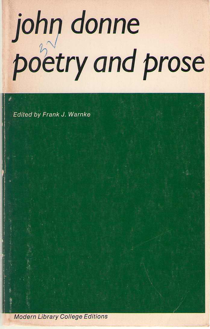 Image for Poetry and Prose