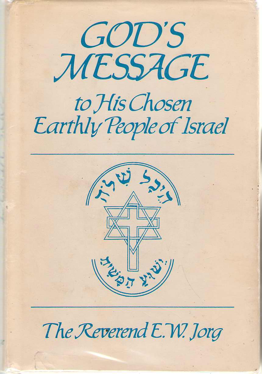 Image for God's Message To His Chosen Earthly People Of Israel