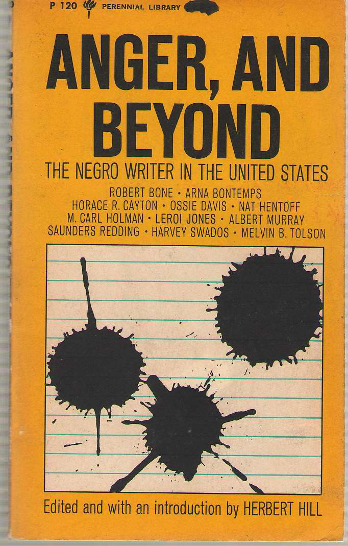 Image for Anger, And Beyond  The Negro Writer in The United States