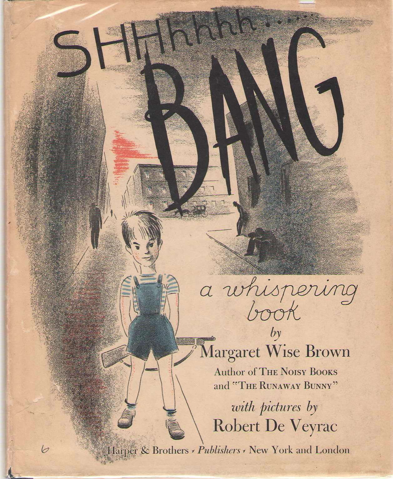 Image for SHHhhhh...... bang, A Whispering Book