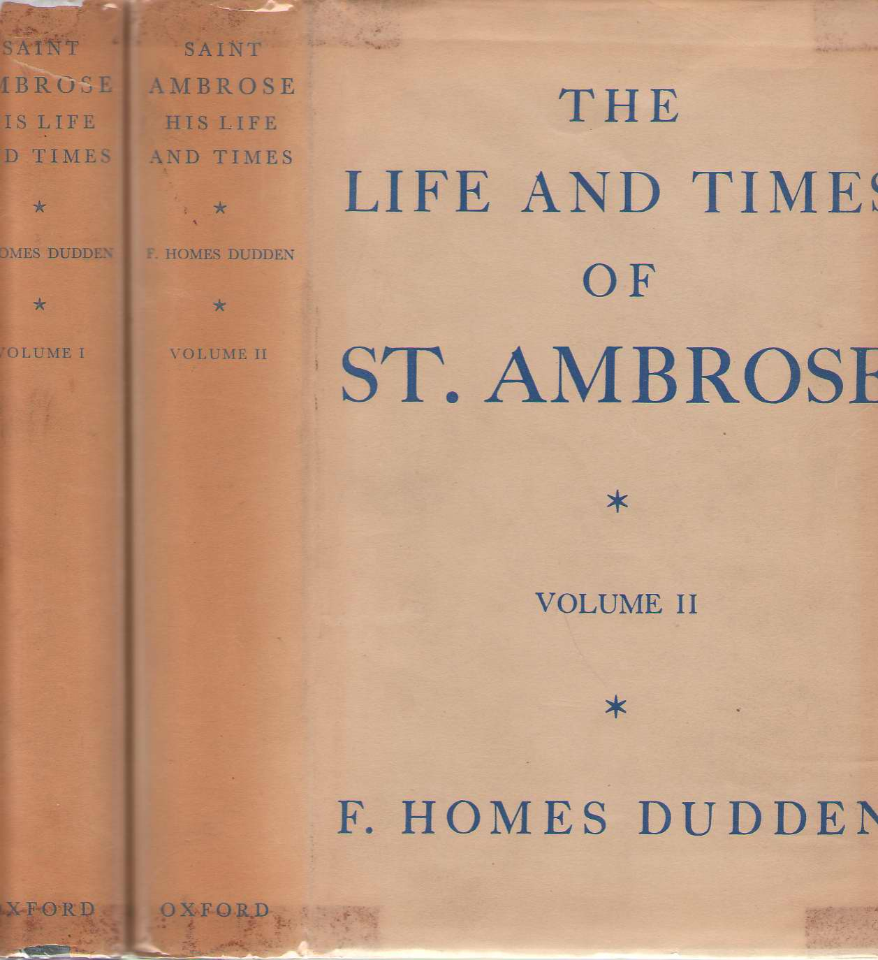 Image for The Life and Times of St. Ambrose 2 Volume Set