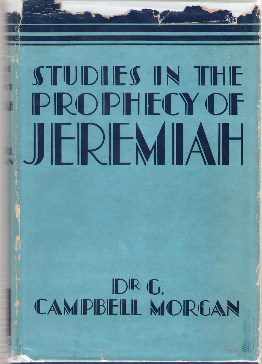 Image for Studies in the Prophecy of Jeremiah