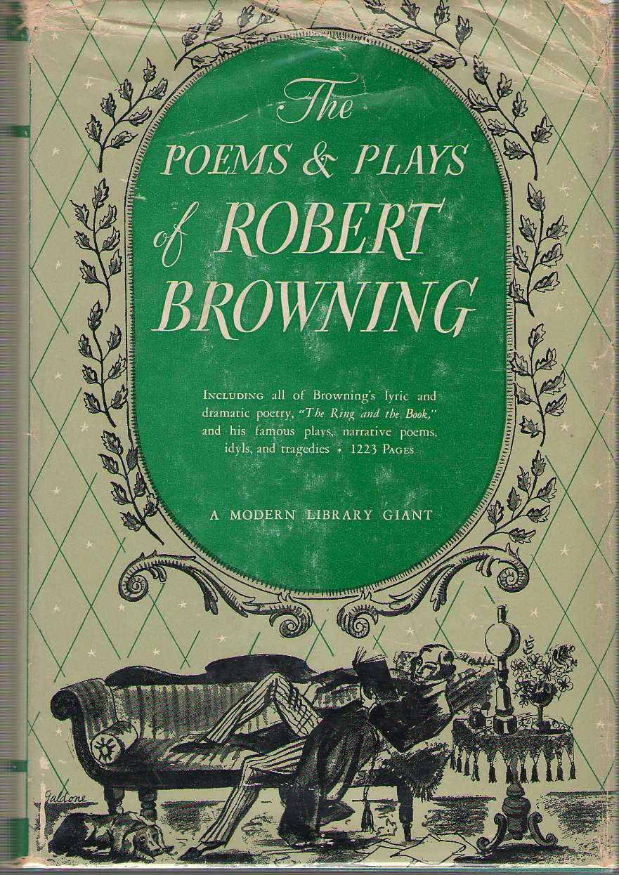 Image for The Poems And Plays Of Robert Browning