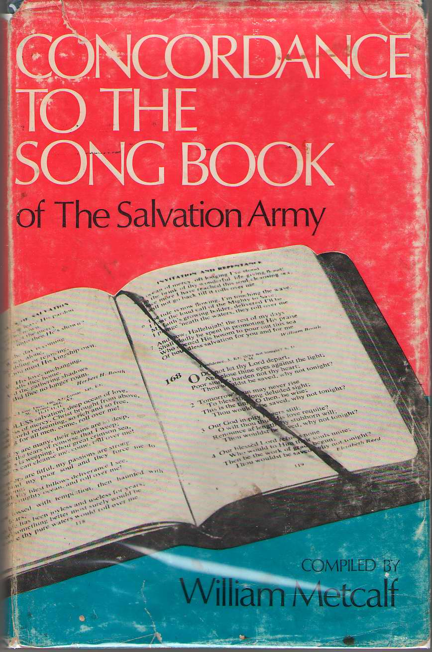 Image for Concordance to the Song Book of the Salvation Army