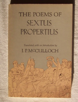 Image for Poems Of Sextus Propertius