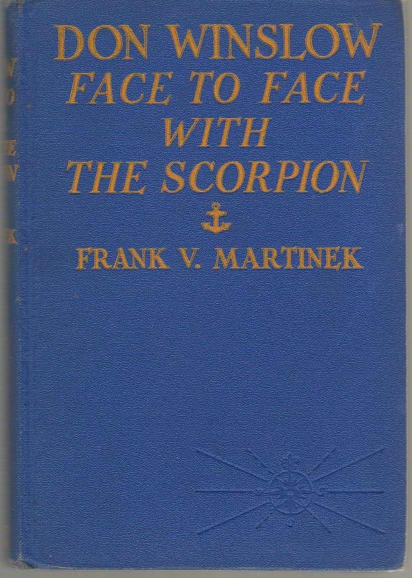 Image for Don Winslow  Face to Face With the Scorpion.