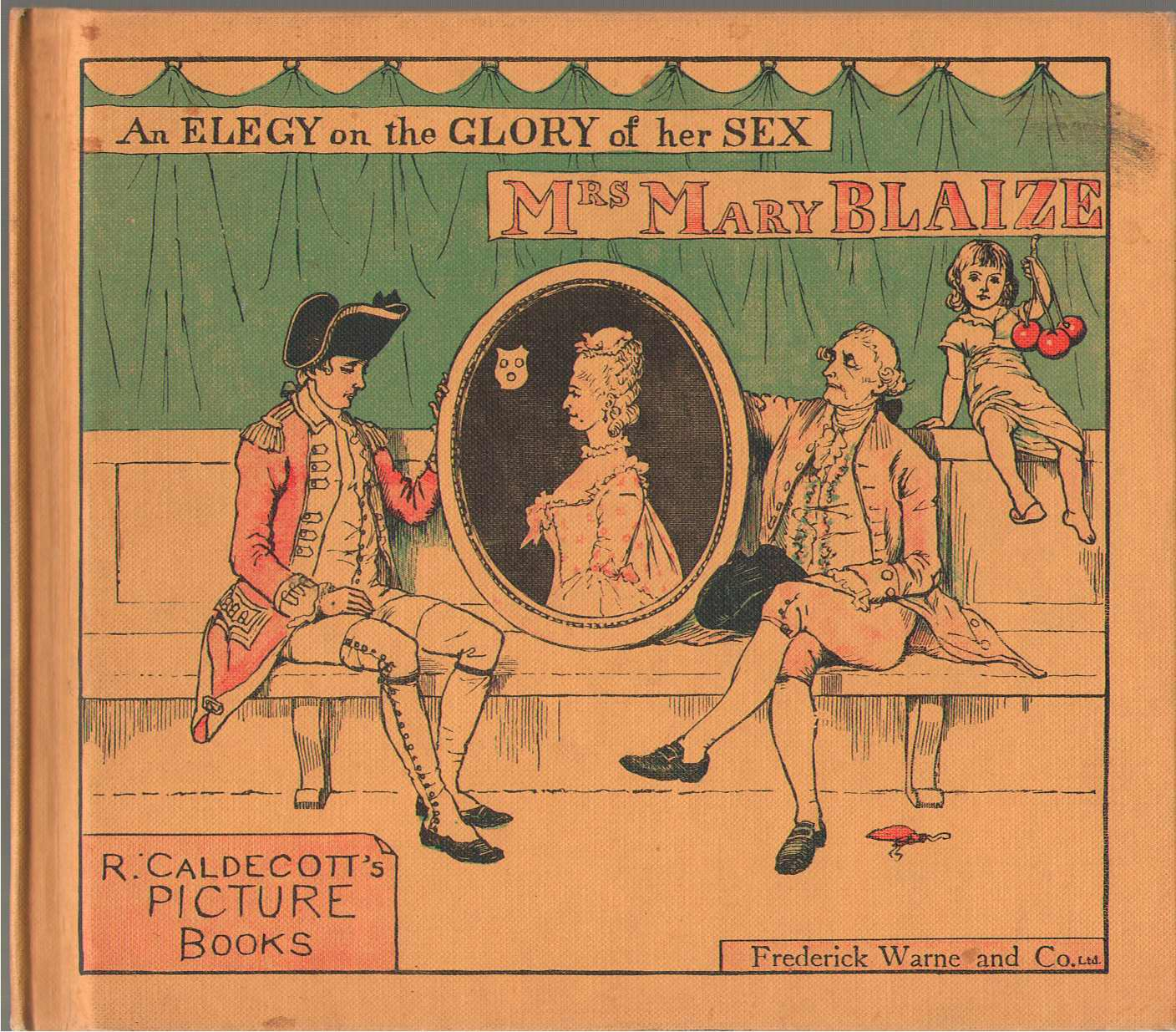 Image for Mrs. Mary Blaize An Elegy On The Glory Of Her Sex.