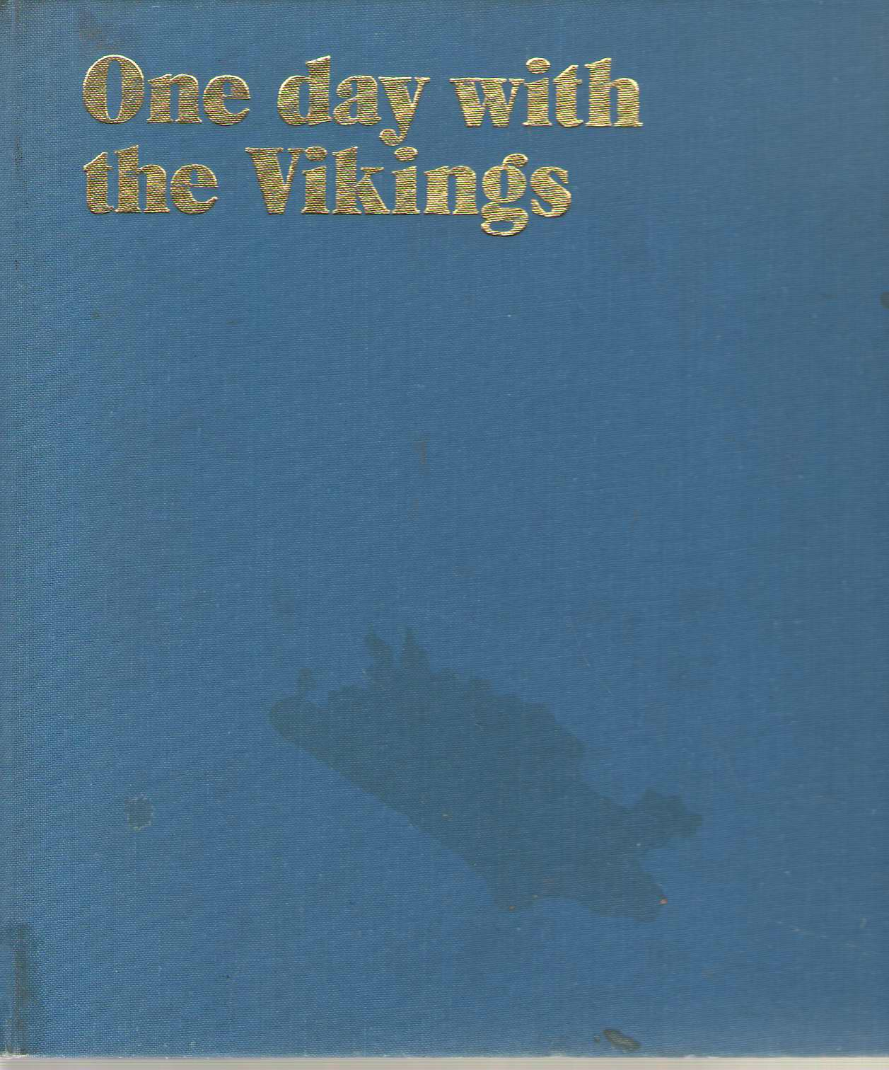 Image for One Day With The Vikings