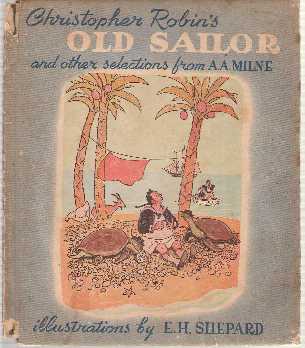 Image for Christopher Robin's Old Sailor and other Selections