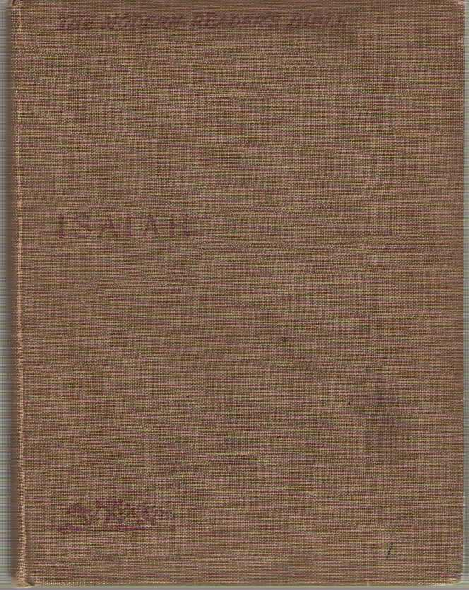 Image for Isaiah The Modern Reader's Bible
