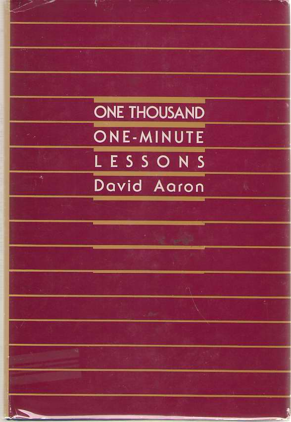 Image for One Thousand One-minute Lessons
