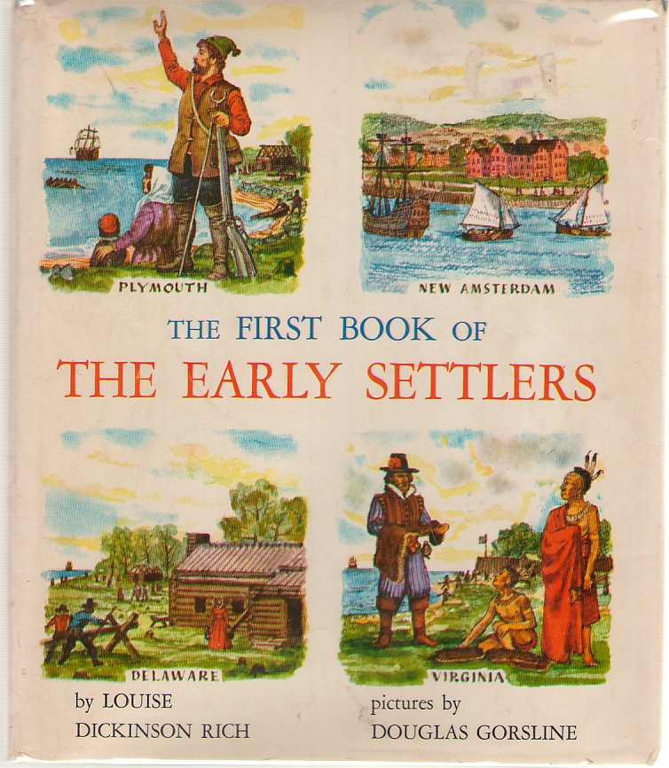 Image for The First Book Of The Early Settlers