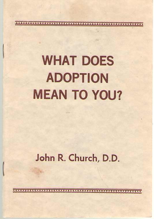 Image for What Does Adoption Mean To You?