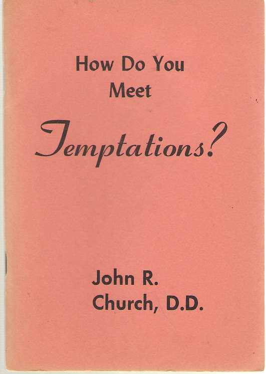 Image for How Do You Meet Temptations?