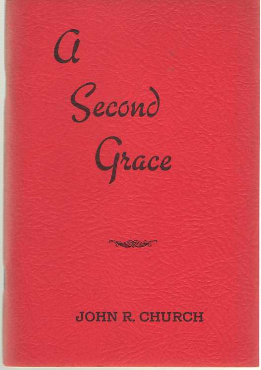 Image for A Second Grace An Adequate Remedy for the Sin