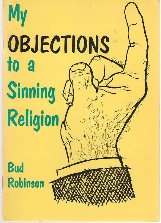 Image for My Objections To A Sinning Religion