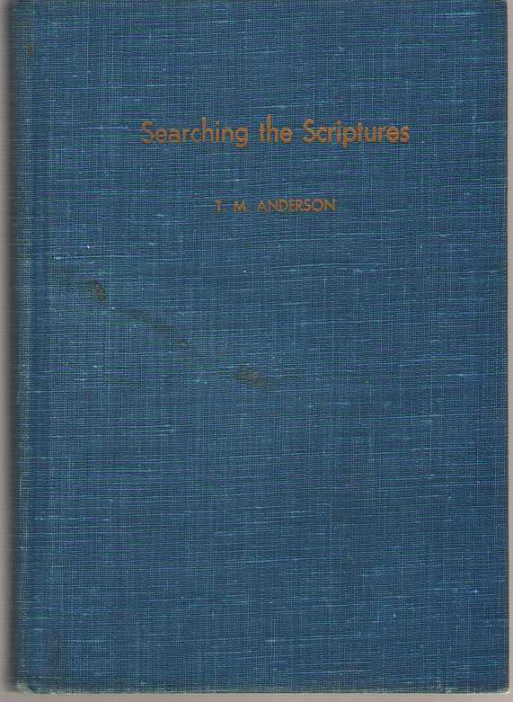 Image for Searching the Scriptures