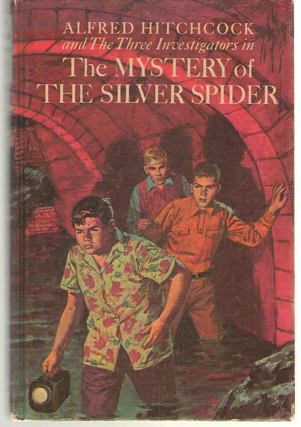 Image for The Mystery Of The Silver Spider