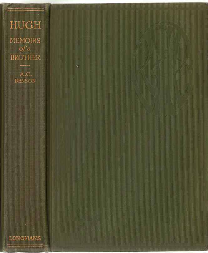Image for Hugh Memoirs of a Brother