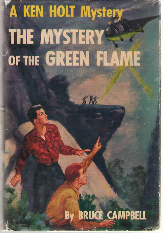 Image for The Mystery of the Green Flame