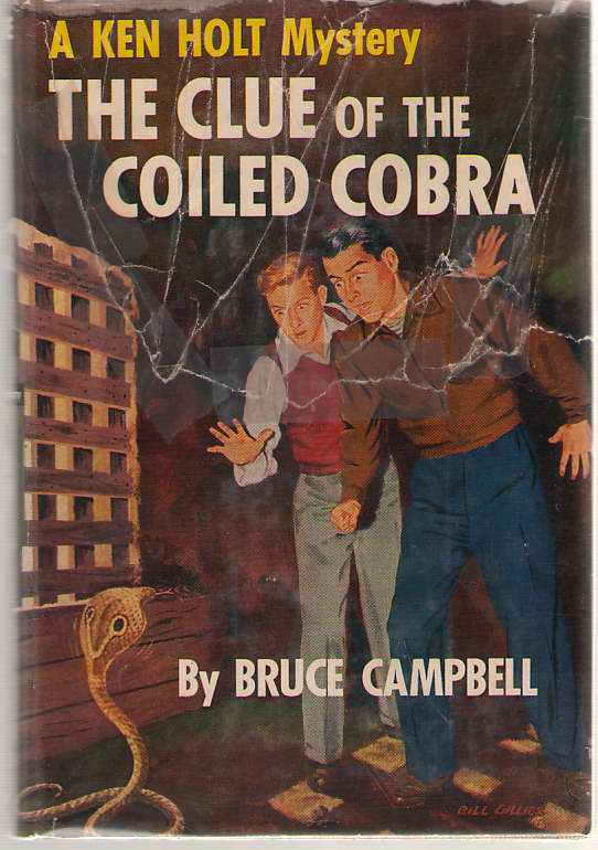 Image for The Clue Of The Coiled Cobra