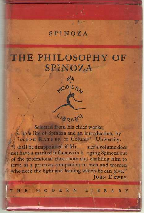Image for The Philosophy Of Spinoza