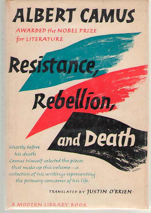 Image for Resistance, Rebellion and Death