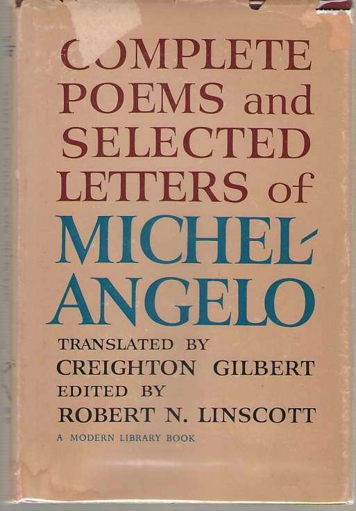 Image for Complete Poems and Selected Letters of Michelangelo