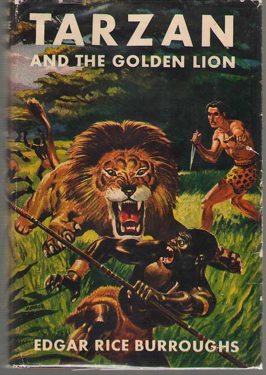 Image for Tarzan And The Golden Lion