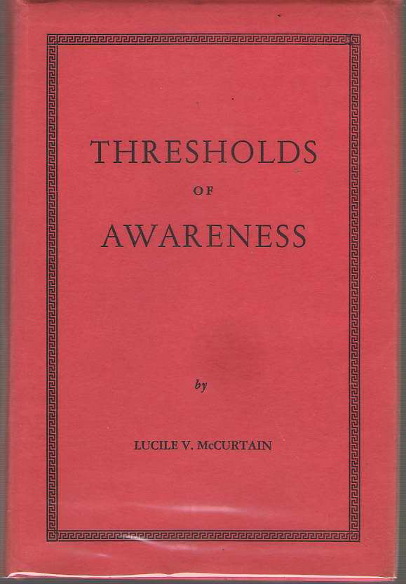 Image for Thresholds of Awareness