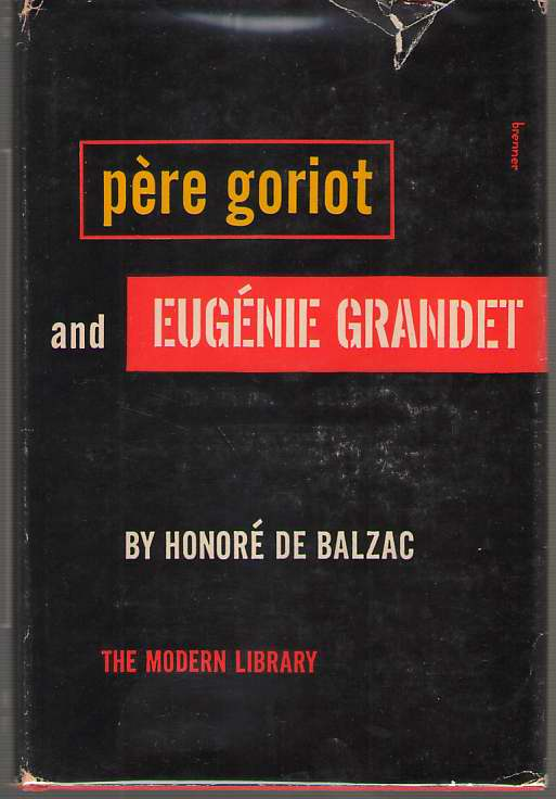 Image for Pere Goriot and Eugenie Grandet
