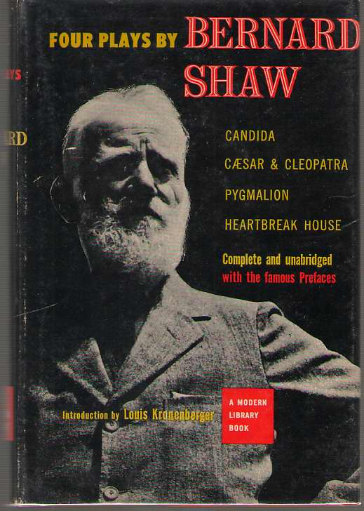 Image for Four Plays By Bernard Shaw