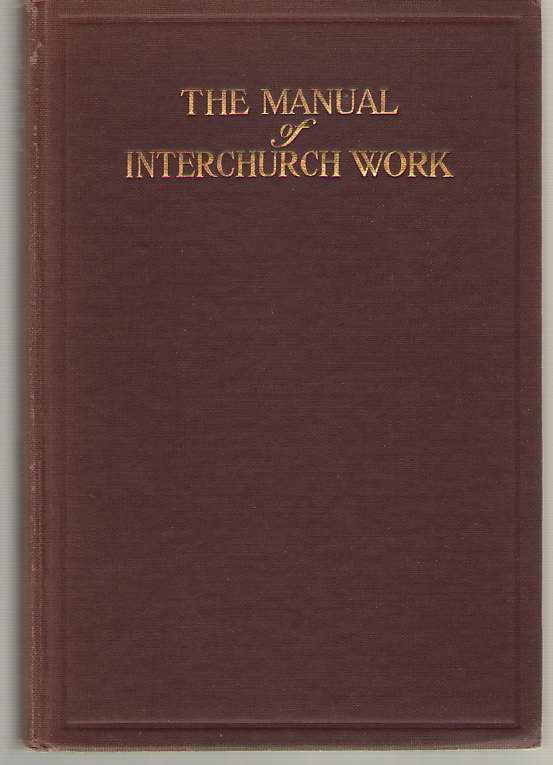 Image for The Manual Of Inter-church Work