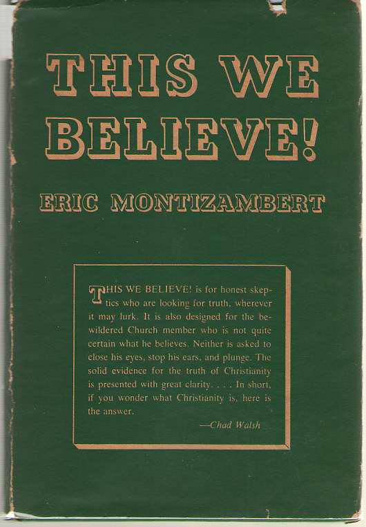 Image for This We Believe!  A Brief Study of the Foundation of Faith