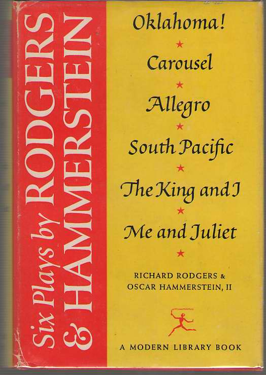 Image for Six Plays By Rodgers And Hammerstein