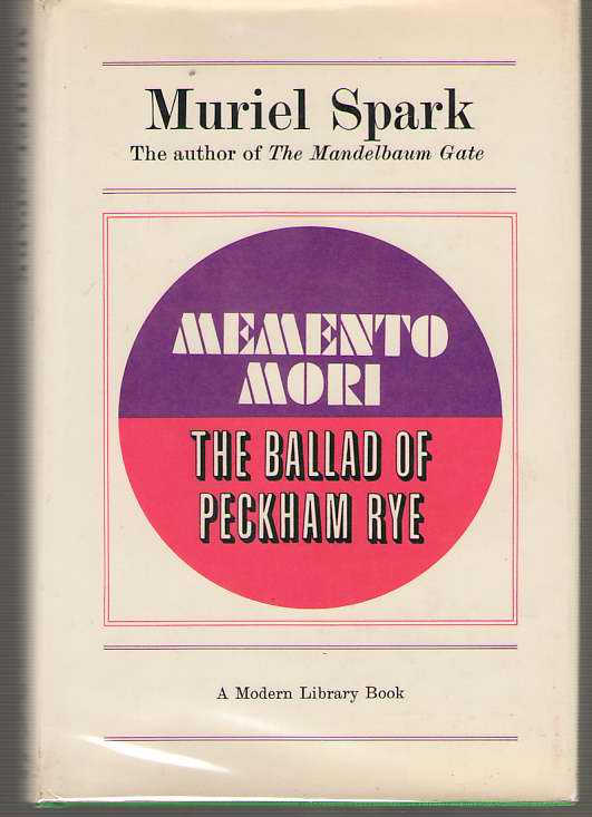Image for Memento Mori, And The Ballad Of Peckham Rye