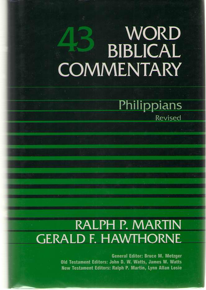 Image for Philippians, Revised Edition