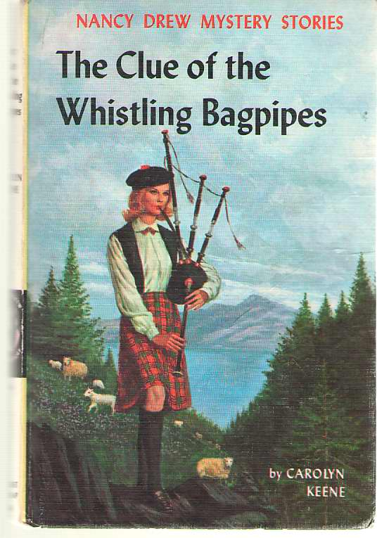 Image for The Clue Of The Whistling Bagpipes