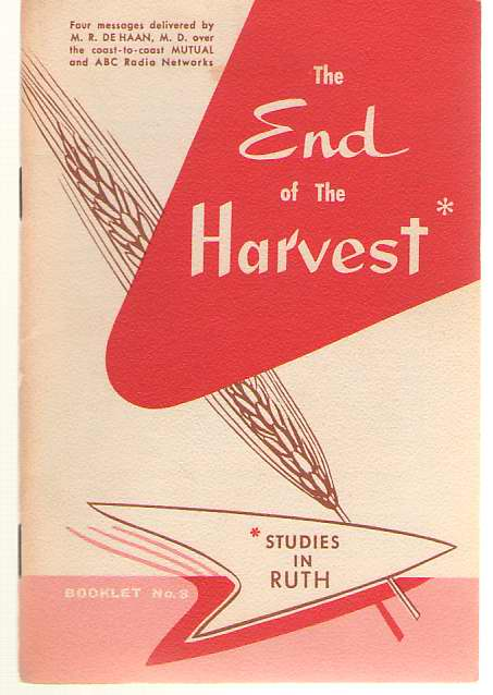 Image for The End Of The Harvest