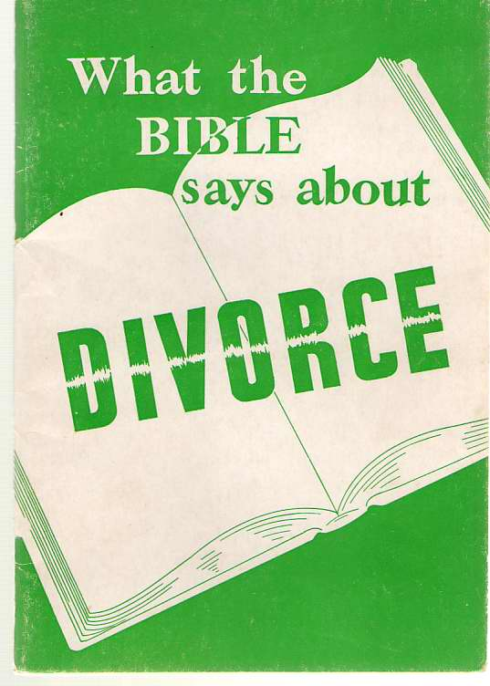 Image for What The Bible Says About Divorce