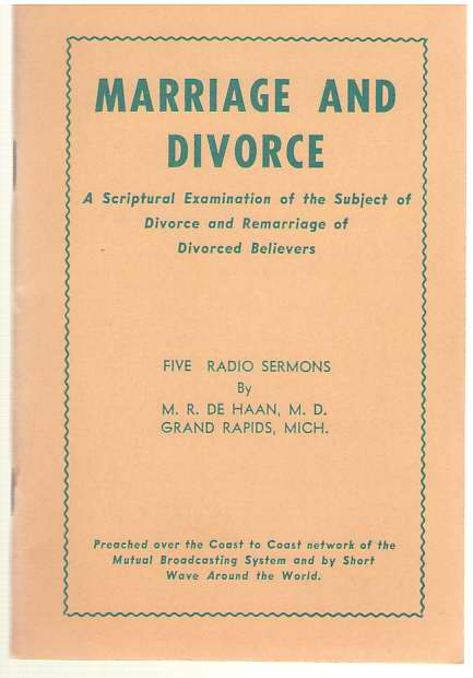 Image for Marriage and Divorce