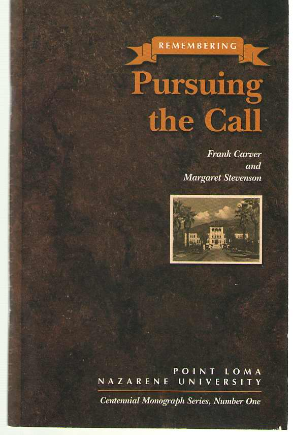 Image for Remembering  Pursuing the Call