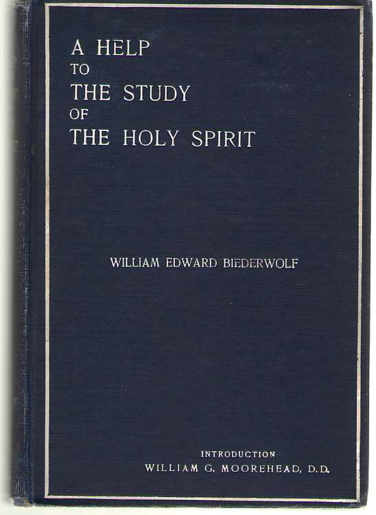 Image for A Help To The Study Of The Holy Spirit