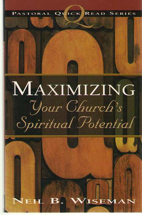 Image for Maximizing Your Church's Spiritual Potential