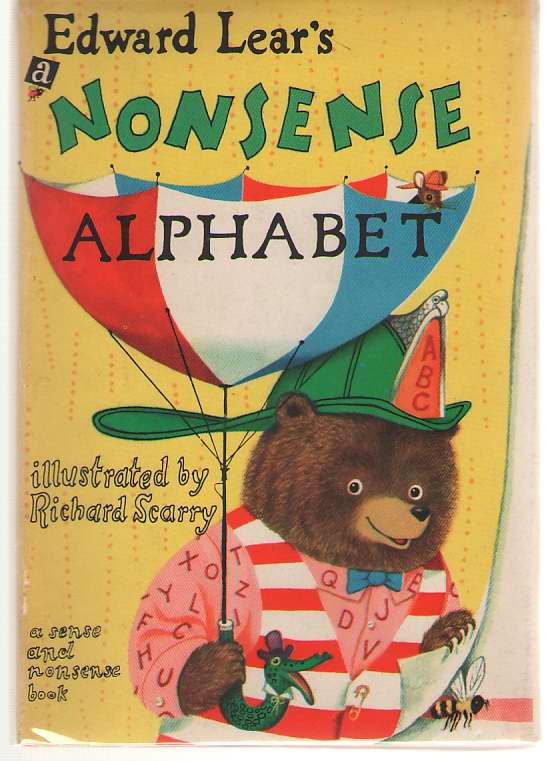 Image for Edward Lear's A Nonsense Alphabet