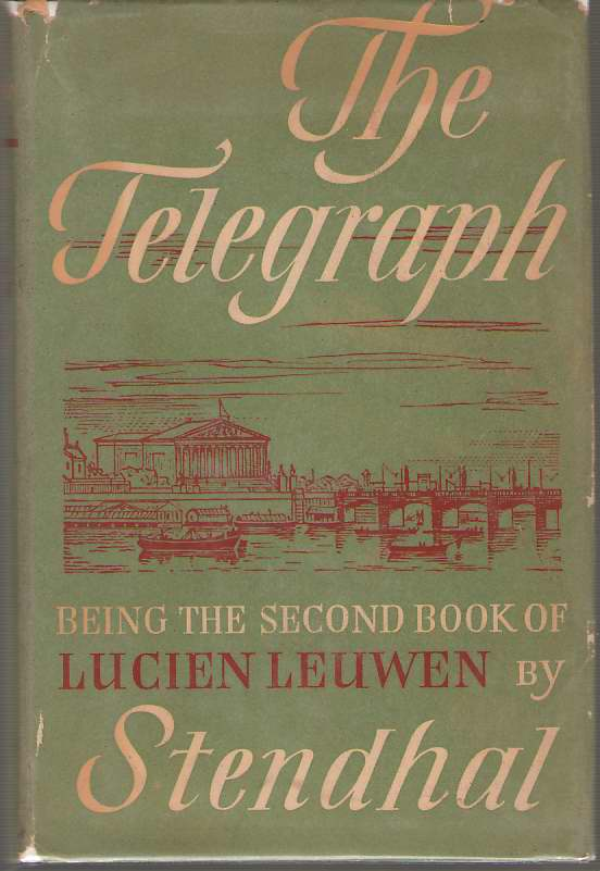 Image for The Telegraph Being the Second Book of Lucien Leuwen