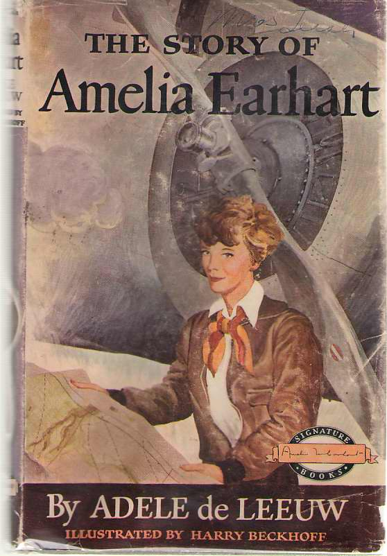 Image for The Story Of Amelia Earhart